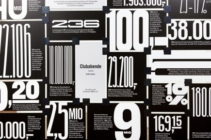 Teaserbild aus der Ausstellung mit Zahlen und Detailinfo aus der Ausstellung