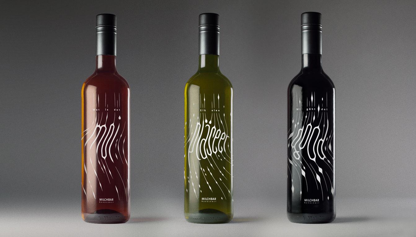 Ansicht aller Flaschen
