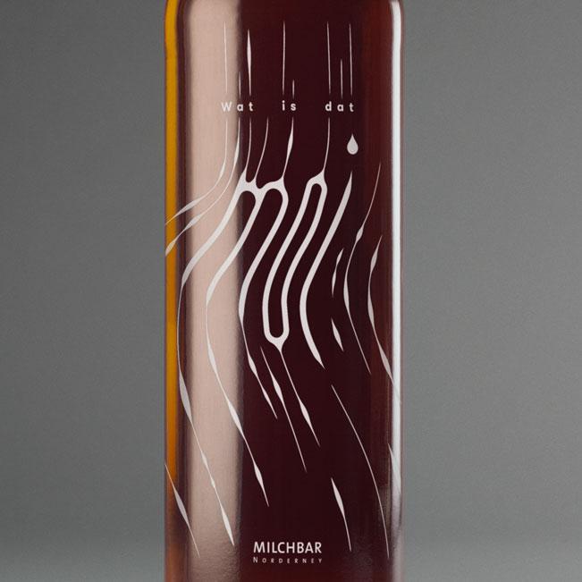 Flasche Detail vorne