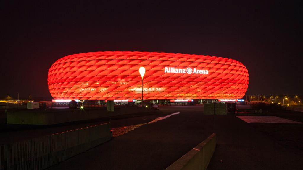 Allianz Arena München Orientierungssystem